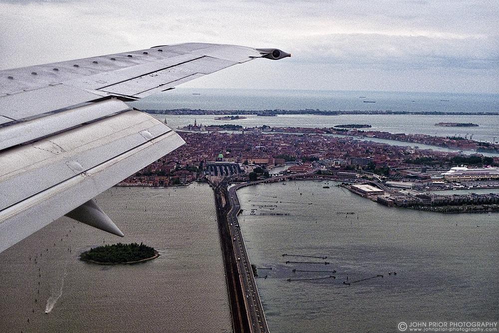 photoblog image About to land