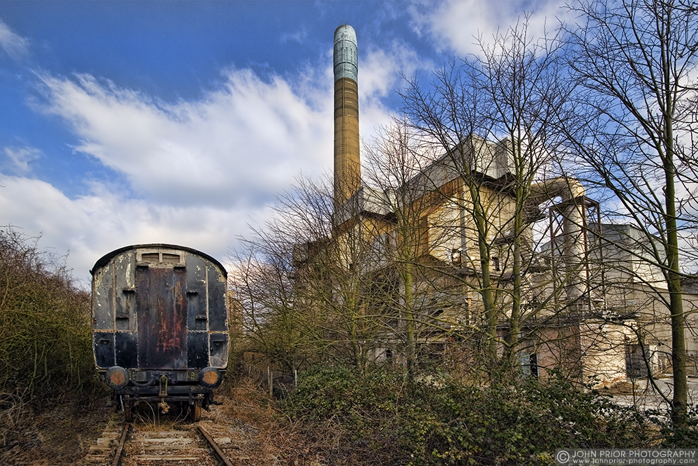 photoblog image Chinnor cement works II