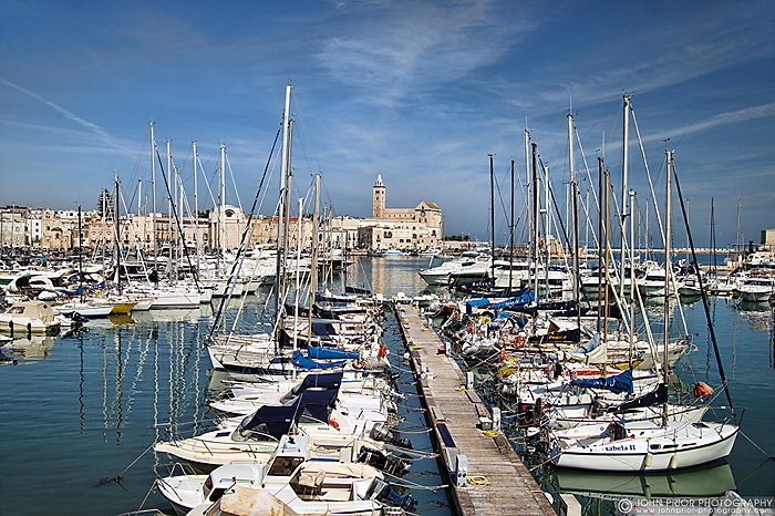 Trani Harbour and Cathedral