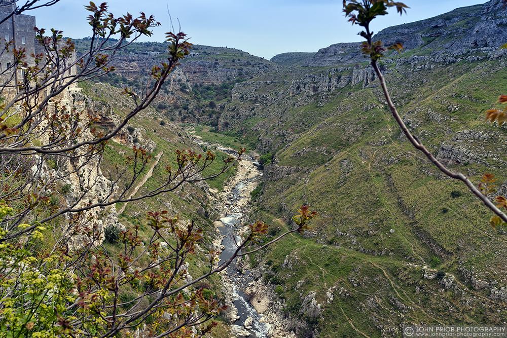 photoblog image Matera ravine