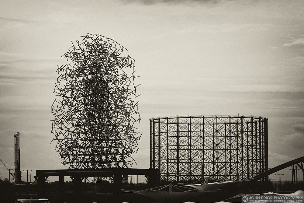 photoblog image Gormley and Gas Works