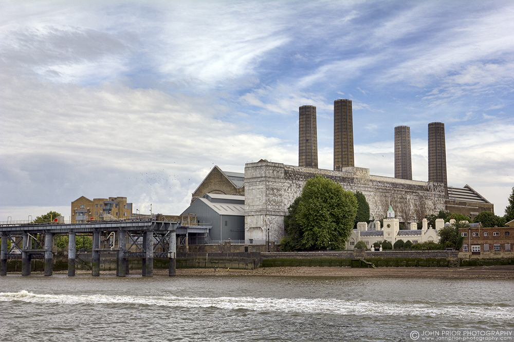 photoblog image Greenwich Power Station