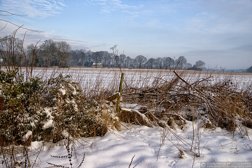 photoblog image Winter fields