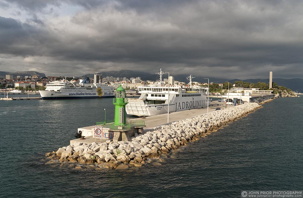 photoblog image Split ferry port