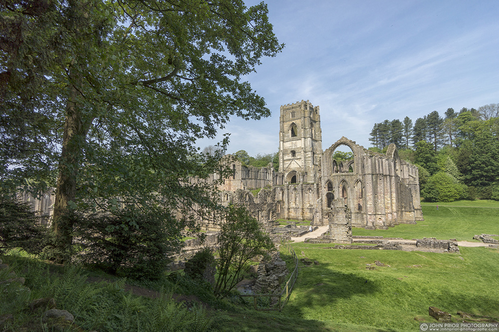 photoblog image Fountains Abbey II